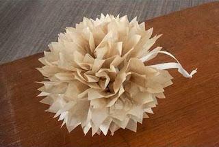 Cara Membuat Kerajinan Tangan Dari Kertas, Membuat Bungan Kertas 4