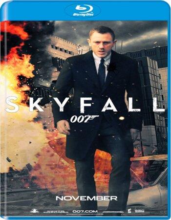 Skyfall (2012) Dual Audio Hindi 480p BluRay x264 450MB ESubs Movie Download