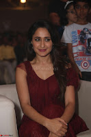 Pragya Jaiswal in Stunnign Deep neck Designer Maroon Dress at Nakshatram music launch ~ CelebesNext Celebrities Galleries 119.JPG