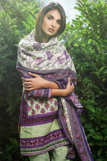Latest winter collection 2016-2017 by gul Ahmed.