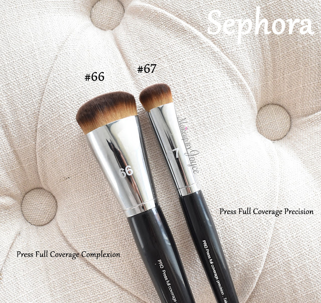Sephora Collection Pro Press Full Coverage Complexion Brush #66 Review