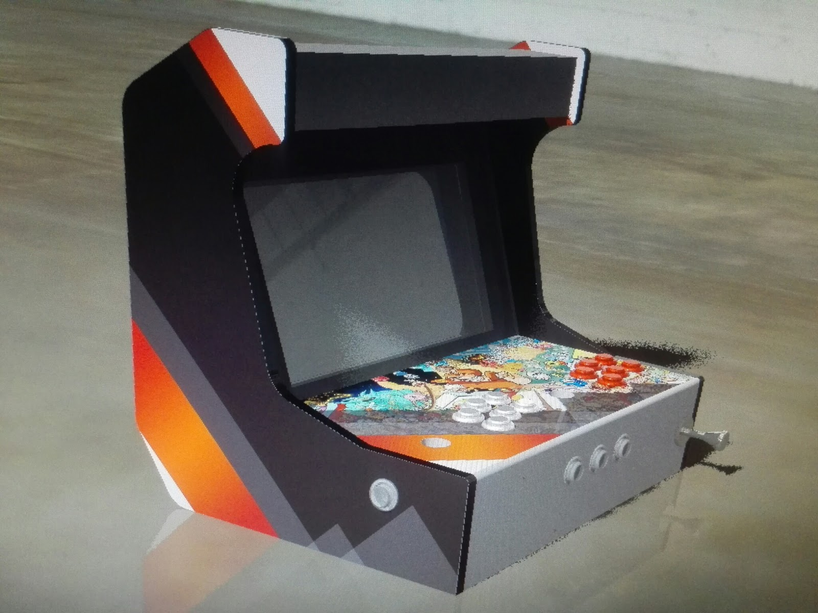 3d Printing Rc Cnc Amp Laser Projects Bartop Mame Arcade