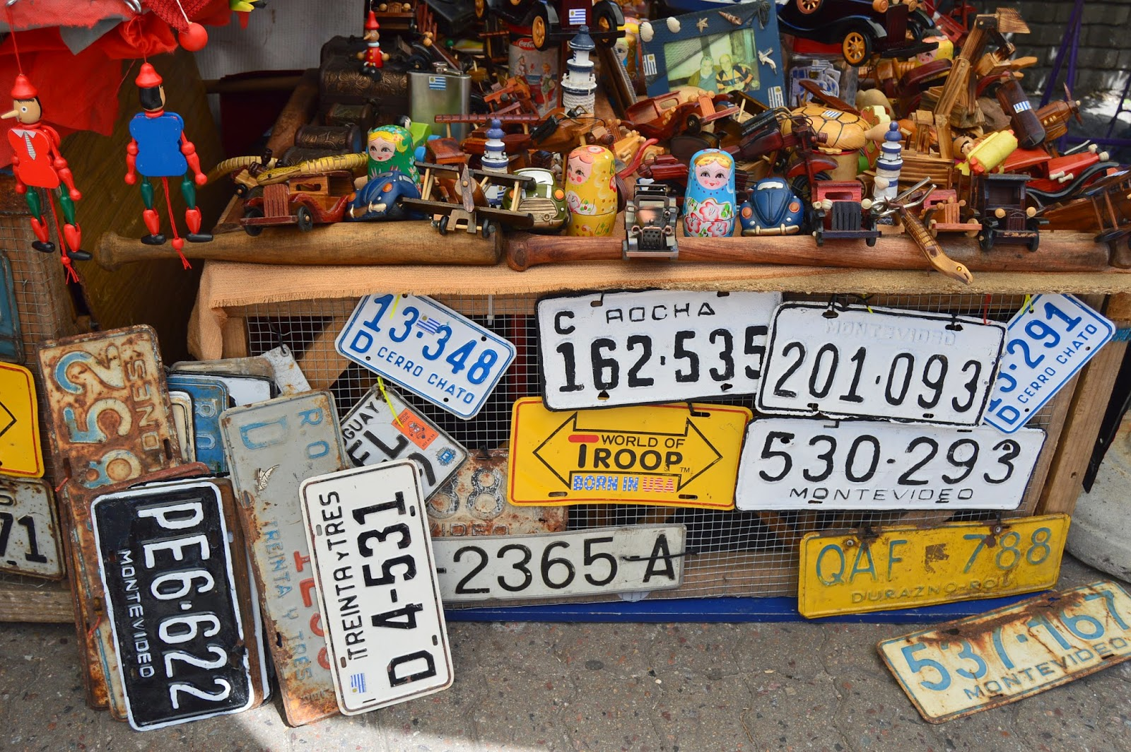 placas de automóveis montevidéu