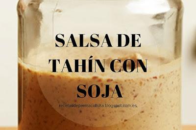 Salsa de Tahín con Soja