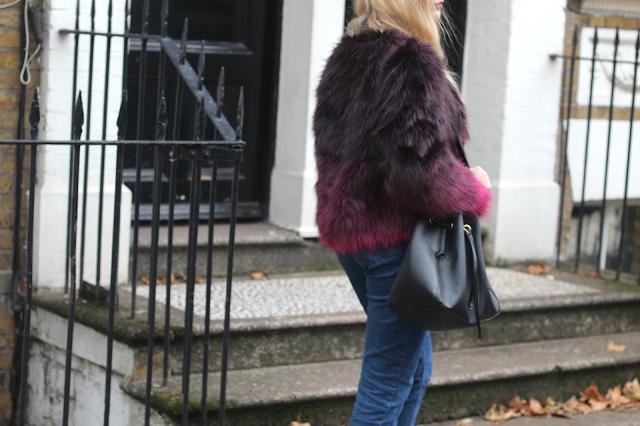 how to style fur coat blog