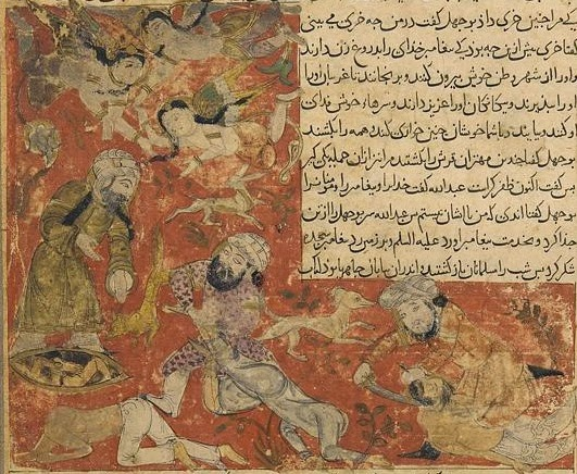 Balami_-_Tarikhnama_-_The_Battle_of_Badr