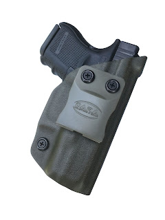 Custom IWB Holster, inside the waistband holster, kydex iwb holster