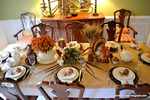 Bounty Of Harvest Thanksgiving Table Worthing Court