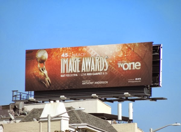 45th NAACP Image Awards billboard