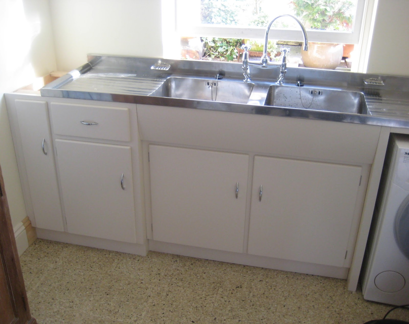joe replaces a vintage porcelain drainboard kitchen sink with a new elkay stainless steel on kitchen sink id=46987