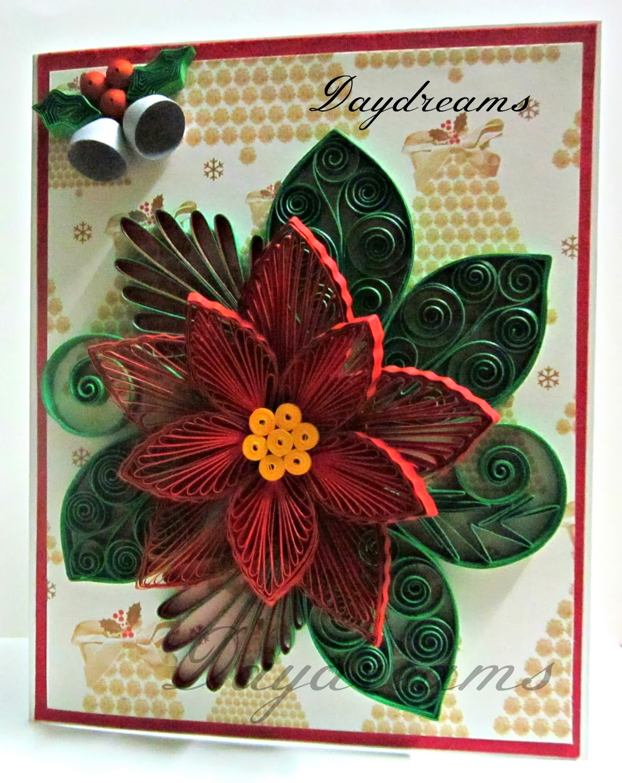 Quilling Xmas Cards