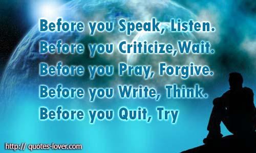 Criticism Quotes For Those Who Criticize. QuotesGram