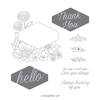 This image shows the Accented Blooms stamp set by Stampin' Up!
