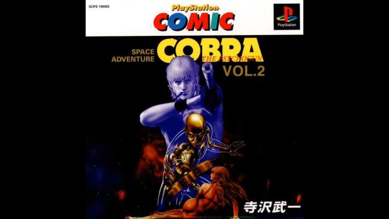 Gaming Backlog Space Adventure Cobra The Psychogun Vol2