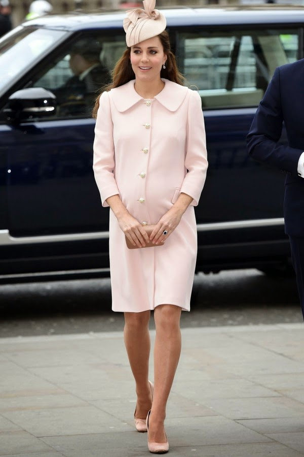 Kate Middleton Reworks Baby Pink Alexander McQueen For Commonwealth Day