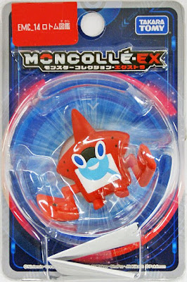 Rotom Pokedex figure Takara Tomy Monster Collection MONCOLLE EX EMC series