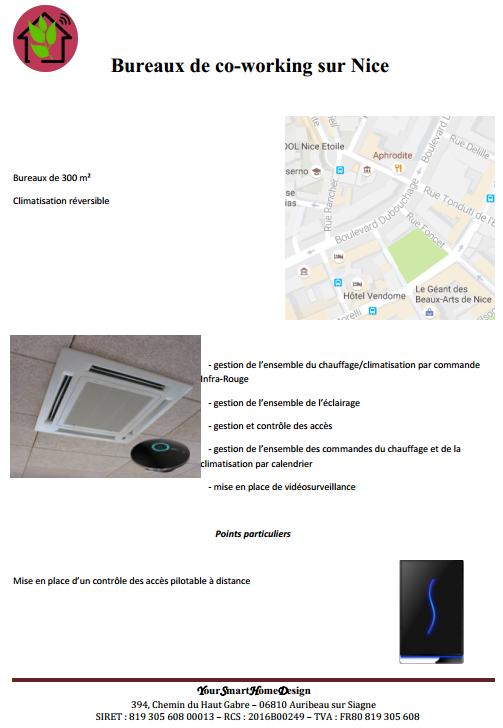 Bureaux de co-working à Nice