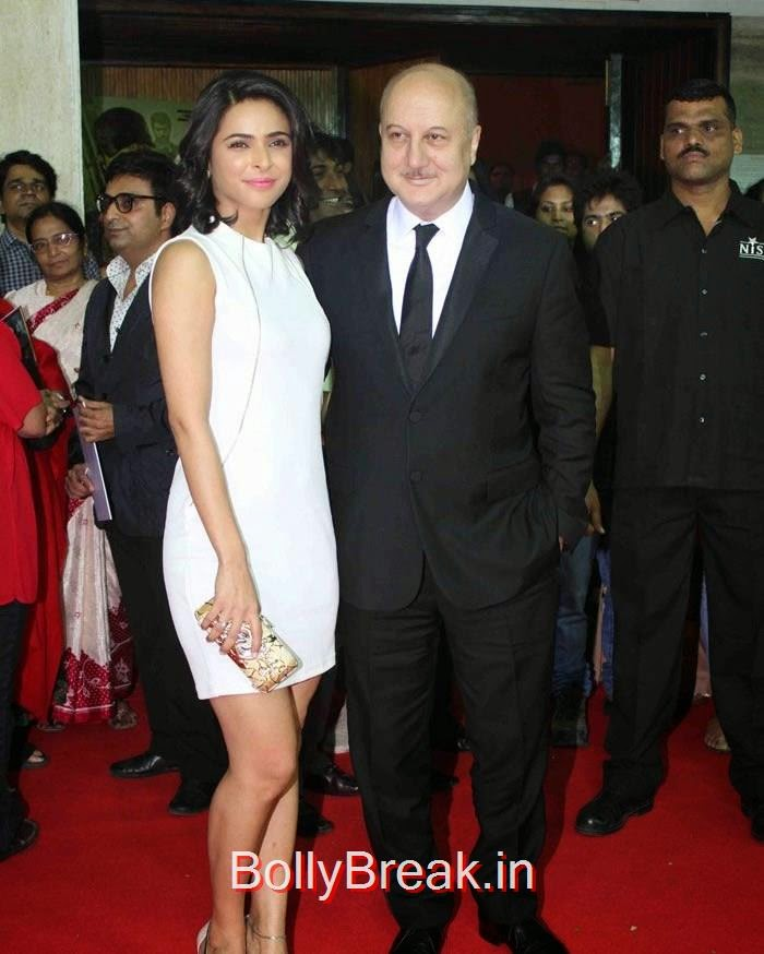 Madhurima Tuli, Anupam Kher, Celebs at Grand Premiere of 'BABY' Organised by Osianama