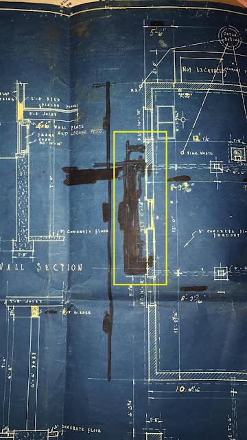 Sears blueprints for customized Sears Vallonia 1933