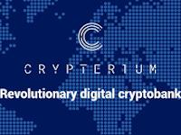 Crypterium sebuah bank crypto yang terdesentralisasi