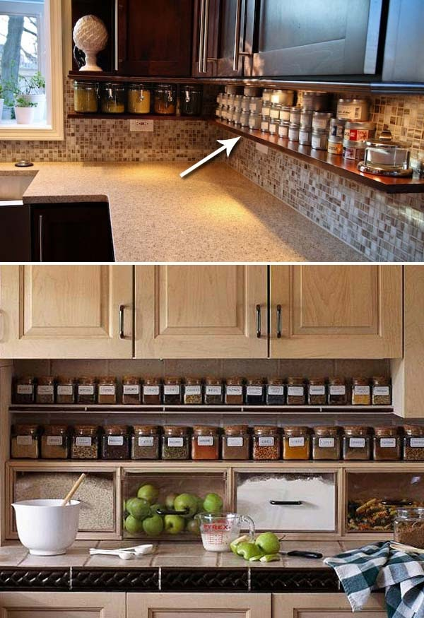 Organizing Kitchen Countertop Paper Clutter