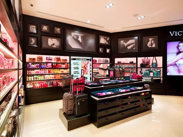 Loja Victoria's Secret em Miami e Orlando