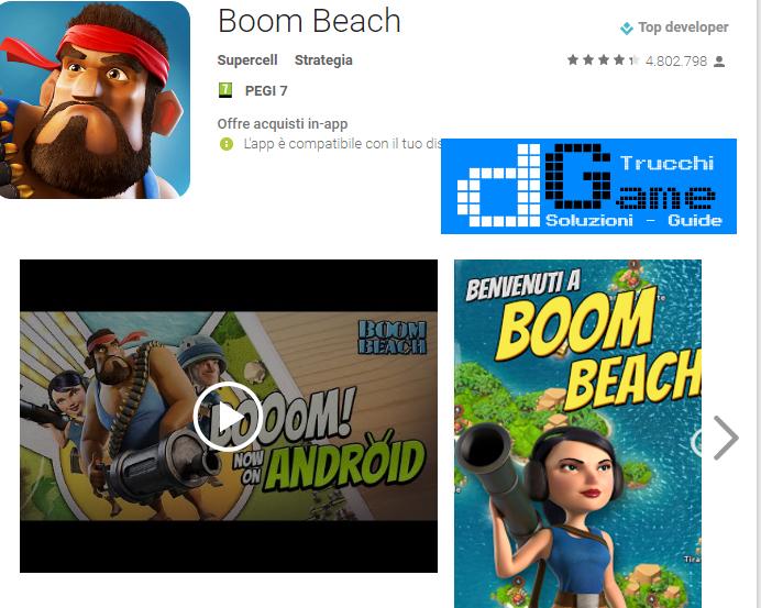 Trucchi Boom Beach Mod Apk Android v28.93