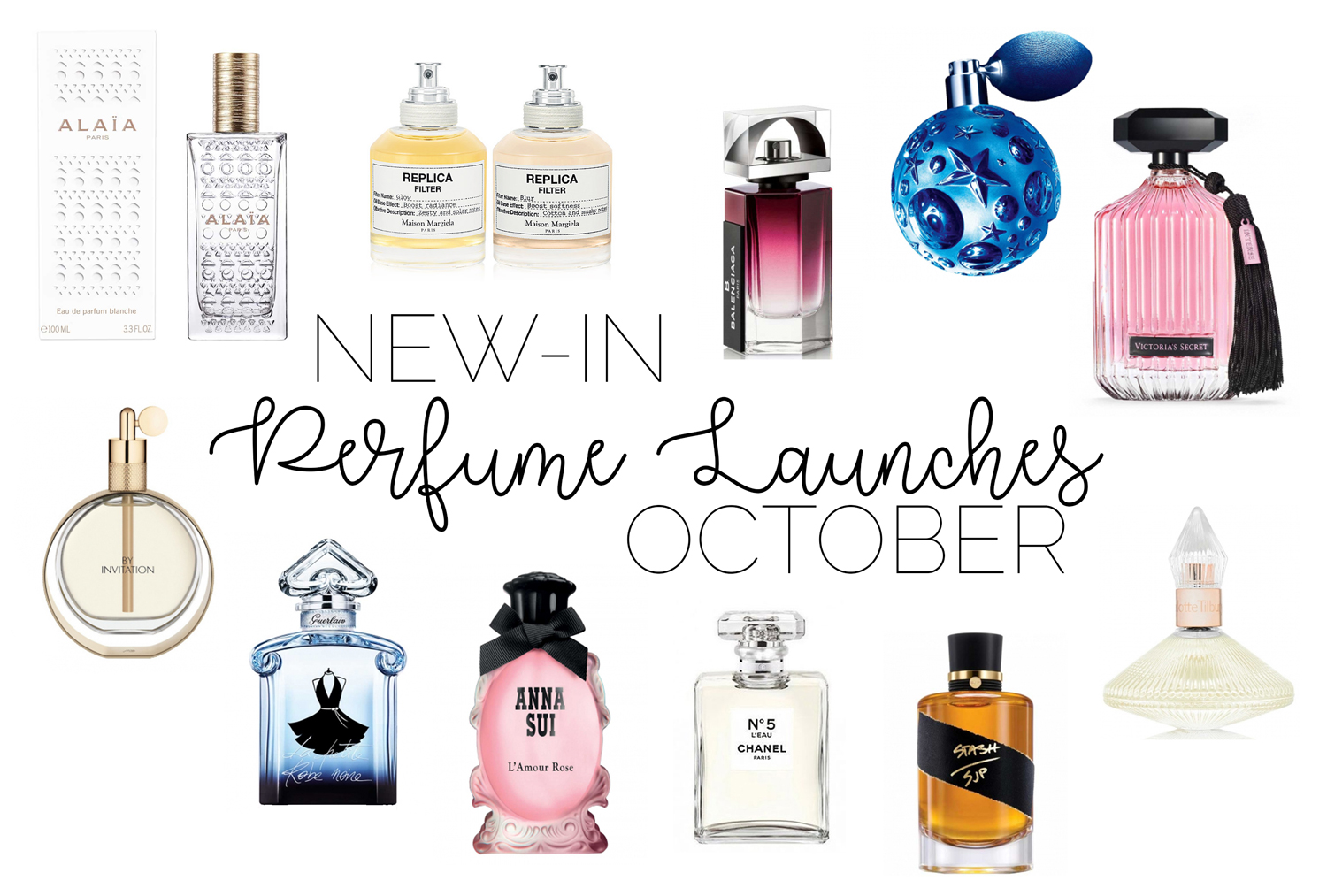 New-In Perfume Launches: October