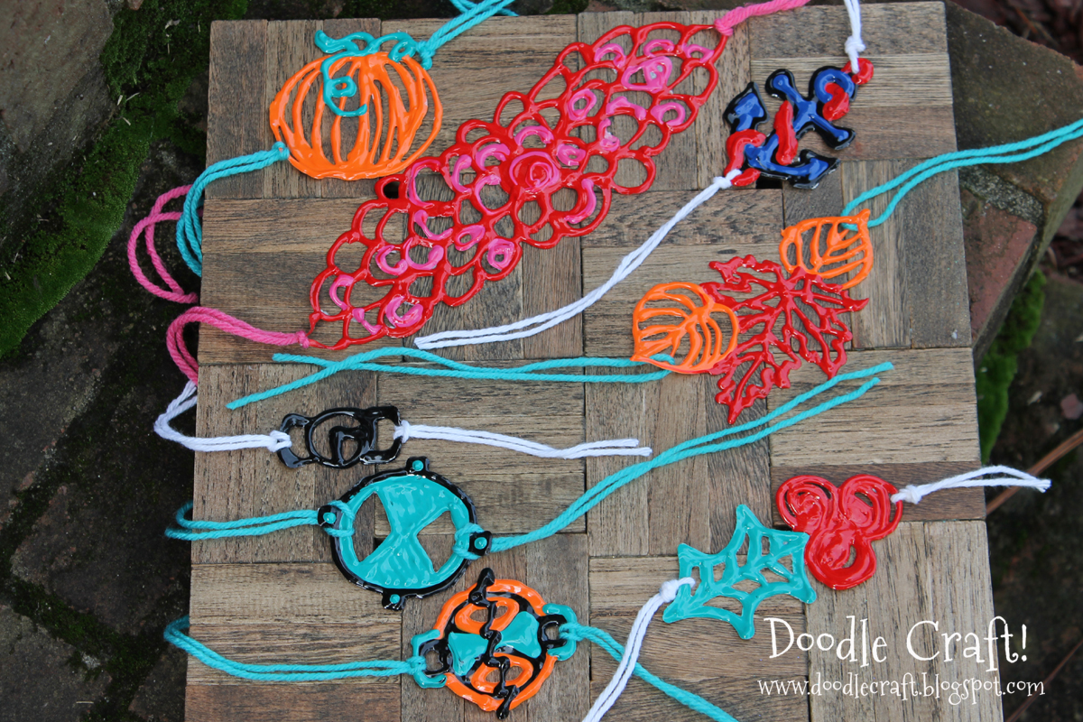 puffy paint craft ideas doodlecraft paint bracelets wristbands and headbands 5297
