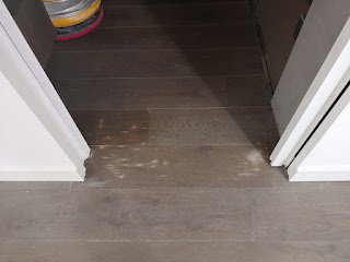 suelo de madera aceitado