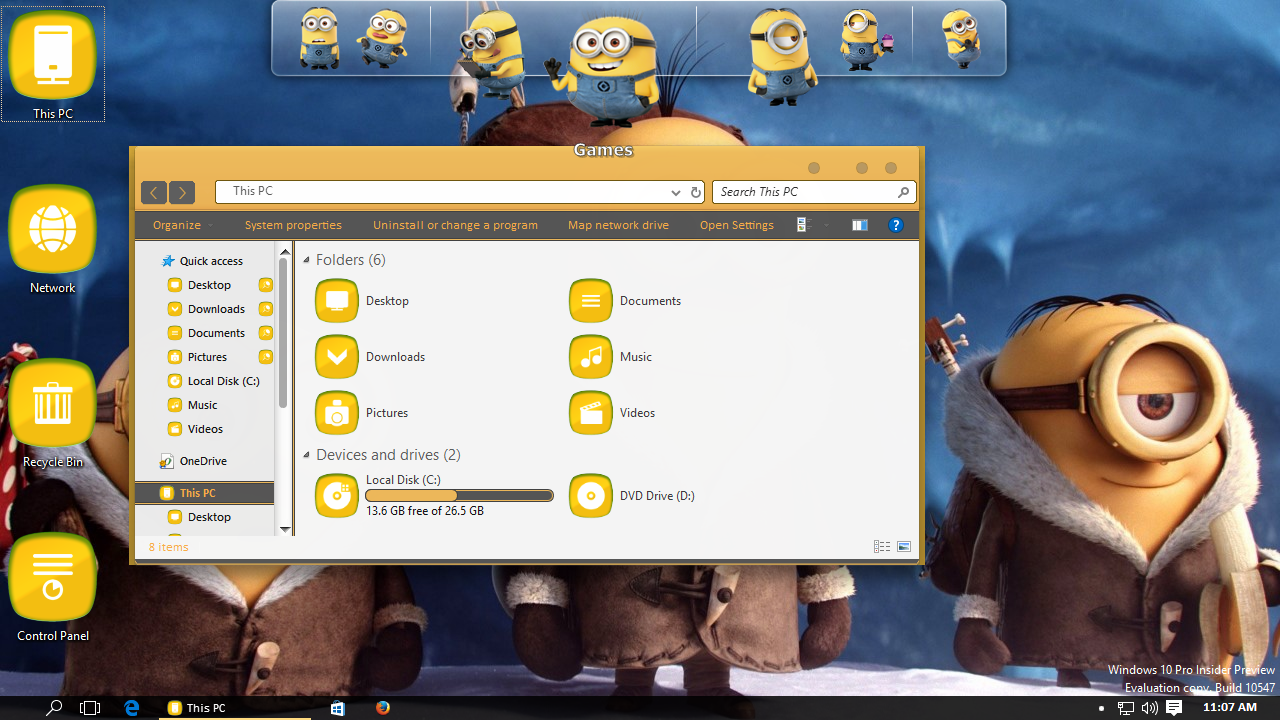 How to install Minions Transformation Pack on Windows 10
