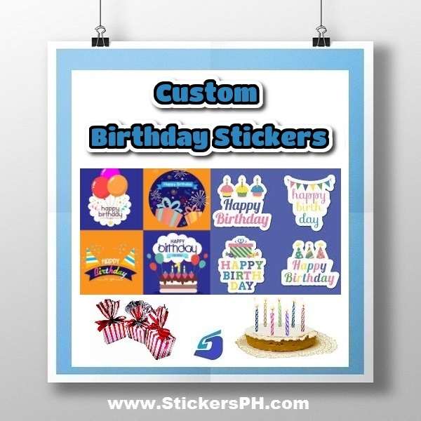 Custom Birthday Party Stickers Philippines