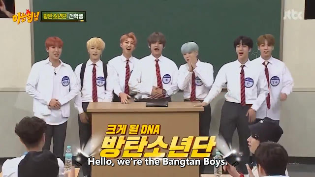 We're the Bangtan Boys (Knowing Brothers Episode 94)