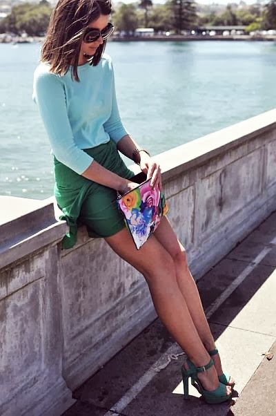 street style: aquacolors