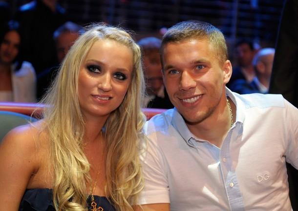 Podolski Ehefrau