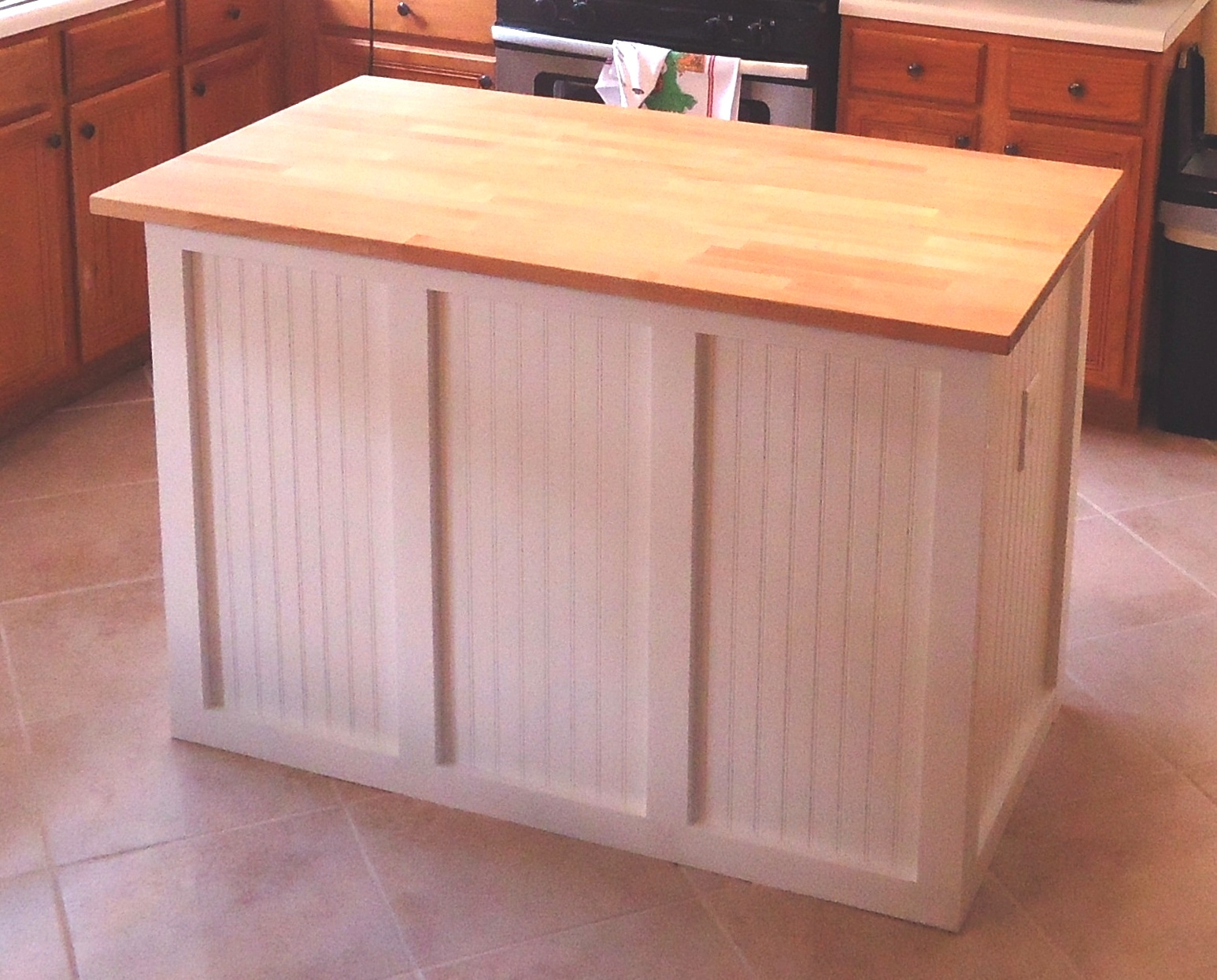 Hiking Walking Etc In Retirement The Diy Kitchen Island