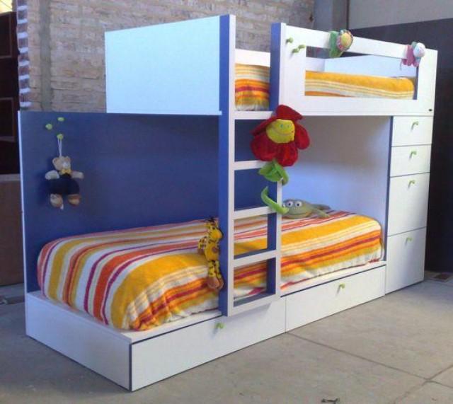 Camas cuchetas bunk beds by cama - Precios de habitaciones infantiles ...