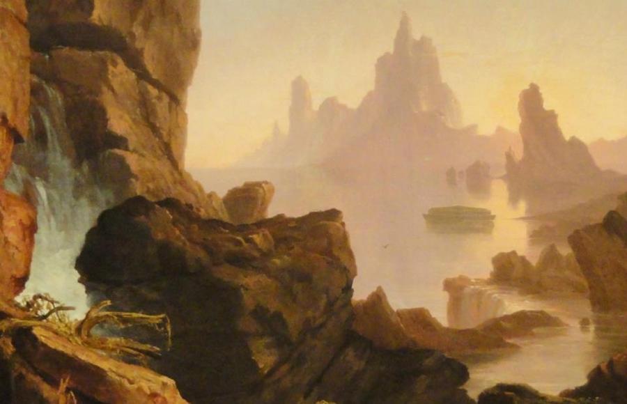 Thomas Cole      ritish born American painter   Tutt'Art@ ()