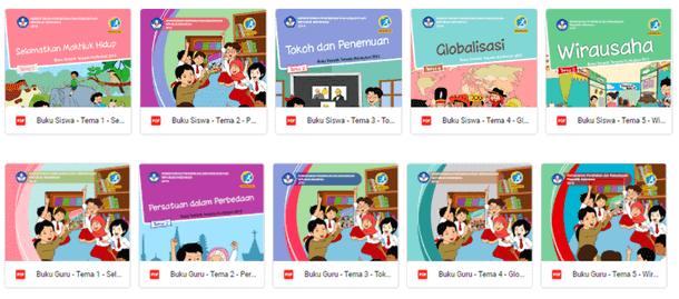 Buku Guru dan Siswa K13 Kelas 6 SD-MI Revisi 2018