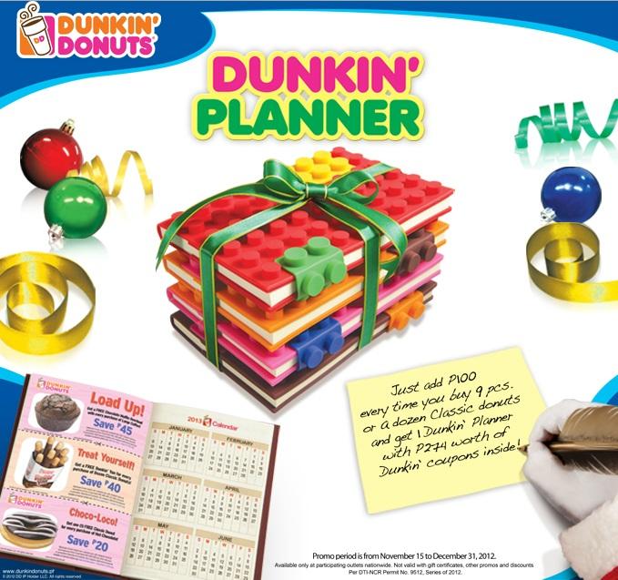 Dunkin\' Donuts Dunkin\' Planner - A Sneak Peak! - Ranneveryday