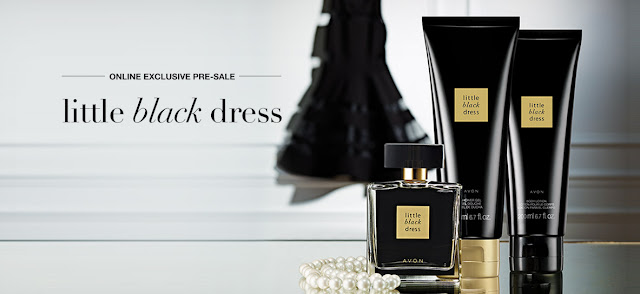 Avon Little Black Dress is back!