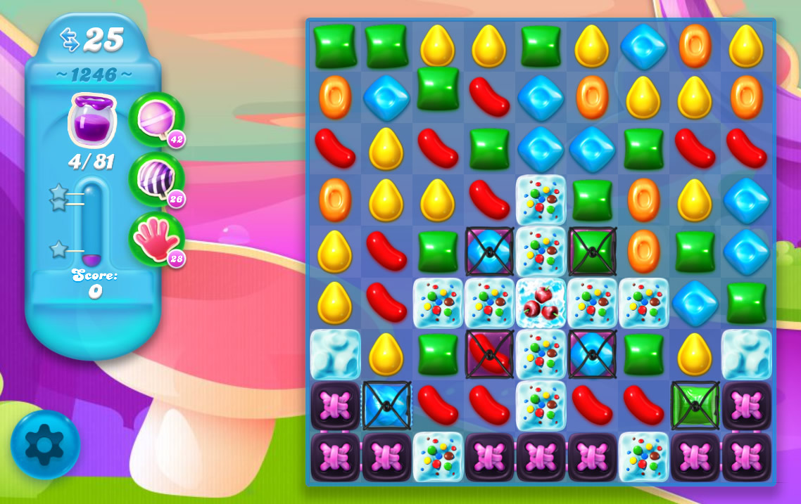 Candy Crush Soda Saga level 1246