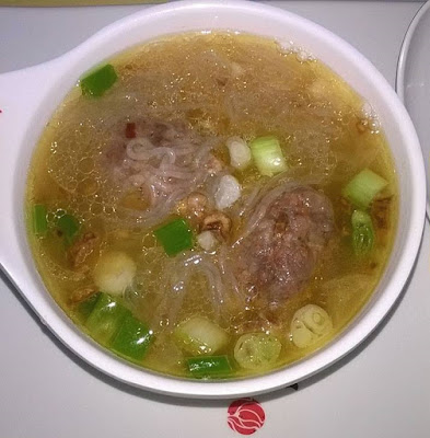 Sotanghon Soup with Pork Meat Balls Recipe