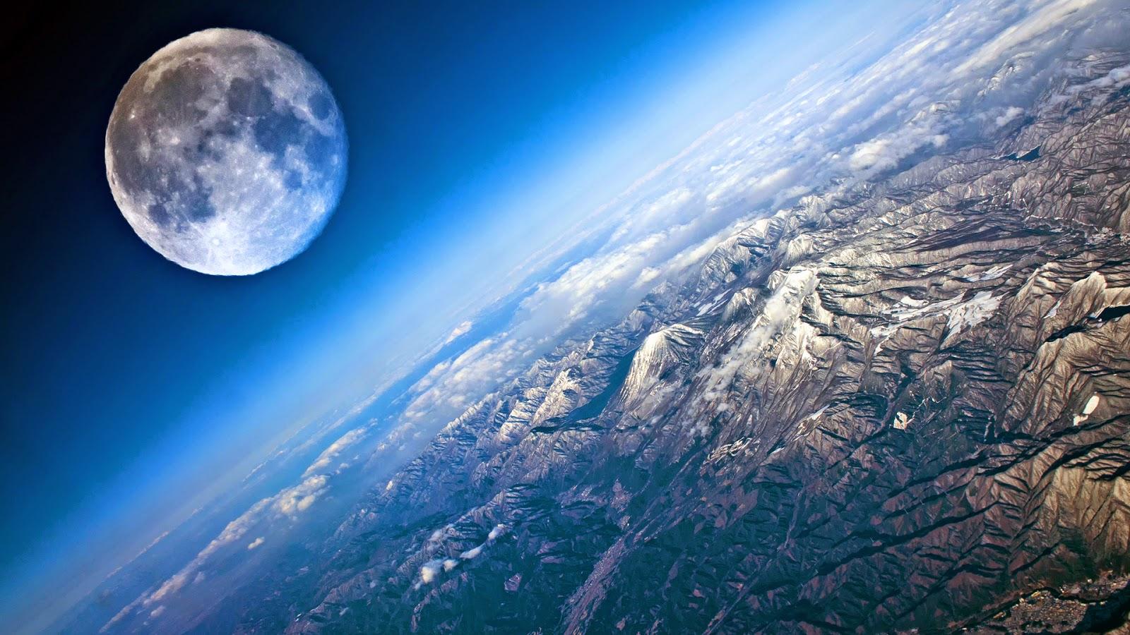 Moon High Resolution Wallpaper