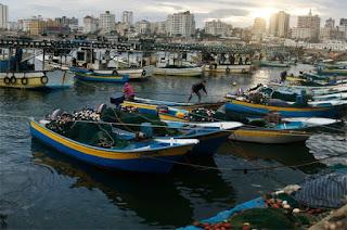 تم توسيع منطقة الصيد ببحر قطاع غزة حتي 15 ميل
