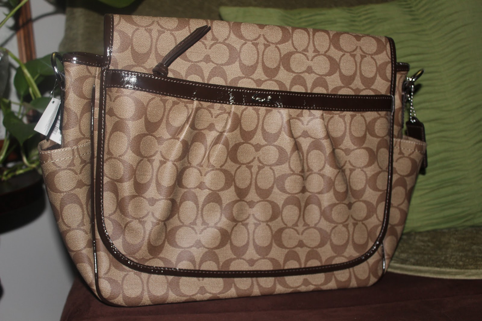 09e257969740 Coach...as a Baby Diaper Bag  ! - Mommy 2K
