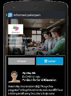 Aplikasi Lowongan Kerja - Cari Pekerjaan via HP Android