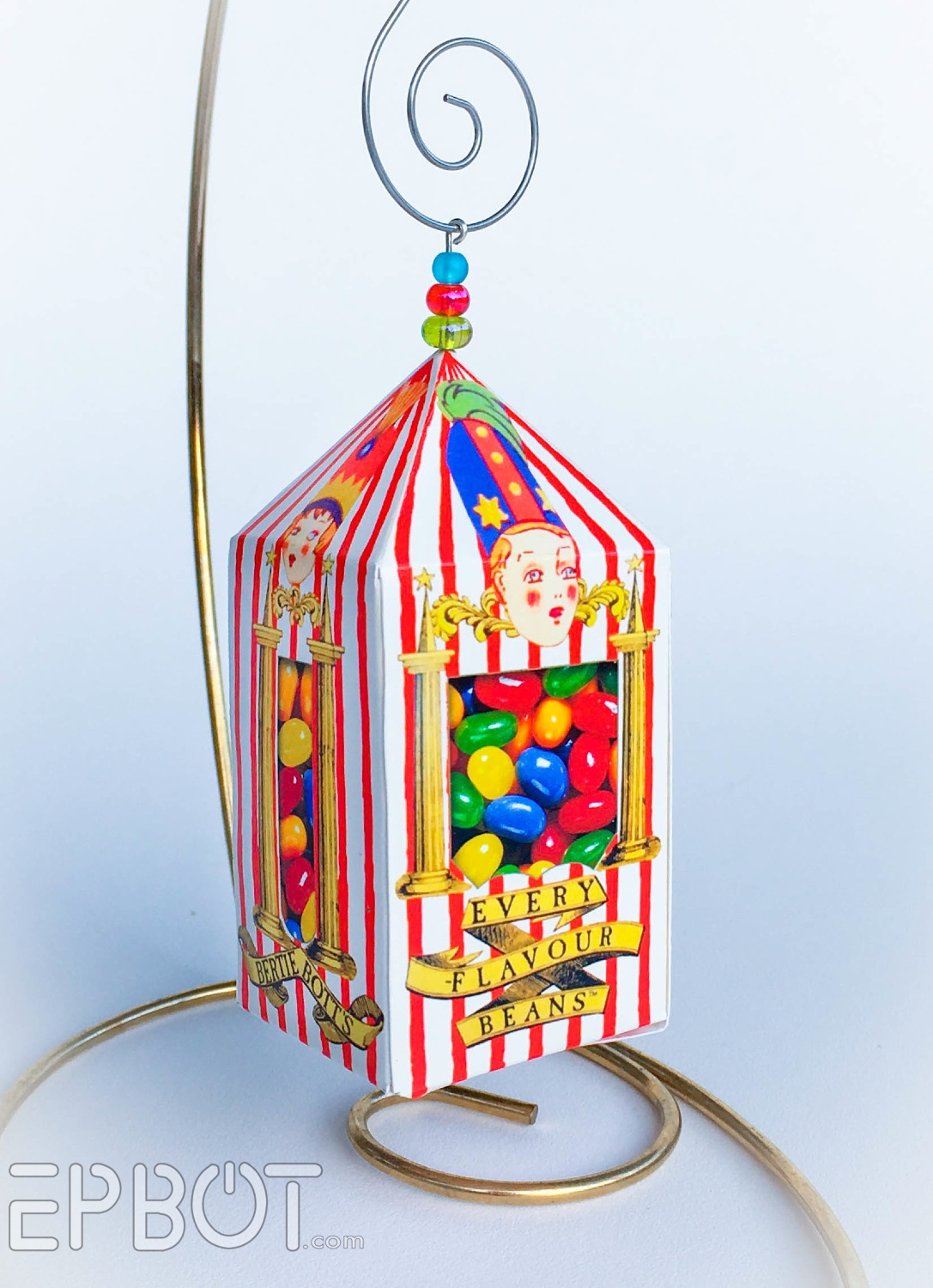 photograph about Bertie Botts Every Flavor Beans Printable called EPBOT: Bertie Botts Each individual Flavour Ornaments: Totally free Papercraft!