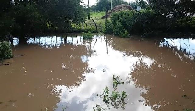 Chuvas animam produtores rurais do RN, e açude de Gangorra começa a receber volume de água em Rafael Fernandes