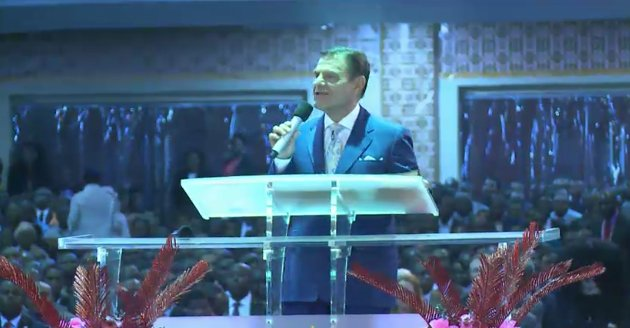 Photos of  Kenneth Copeland In David Oyedepo's International Ministers' Conference 2017.